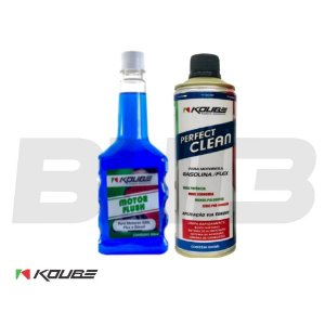 Kit Koube Flush Preventivo + Perfect Clean Gasolina/flex