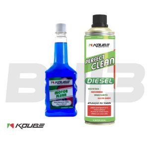 Combo Koube Flush Preventivo + Perfect Clean Diesel