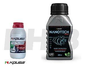 Combo Nanotech 1000 Koube Condicionador de Metais Limpa Para-brisa