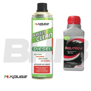 Combo Militec + Perfect Clean Diesel Koube