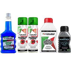 Combo Koube Flush Preventivo + Nanotech + Flush Corretivo + K90