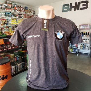 Camiseta Bmw Mpower Mescla Carvão Am.009