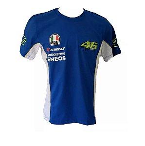 Camiseta Valentino Rossi Camisa Moto GP Motogp Ref.205