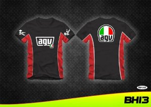 Camiseta Agv Camisa Sport Racing Motogp Mot Gp Ref.208