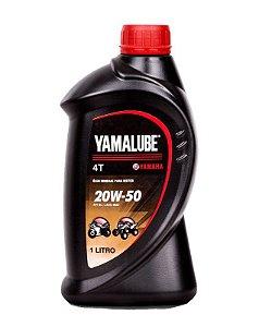Yamalube Mineral 4t 1litro 20w50 Sae Api Sl Jaso
