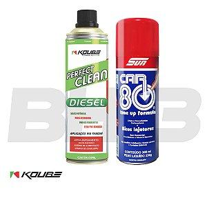 Perfect Clean Koube Diesel + Car80 Bicos Injetores