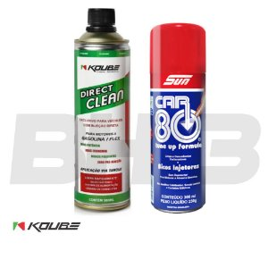 Koube Direct Clean + Car80 Bicos Injetores