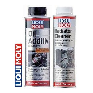 Liqui Moly Radiator Cleaner + Oil Additiv Liqui Moly
