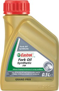 Oleo Suspensão Moto Fork Oil Synthetic 5w 500ml Castrol