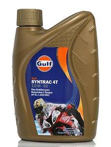 GULF 10W40 Óleo Motor Syntrac 4T Quadriciclo Moto Sintético