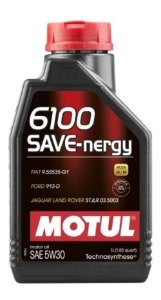 Motul 6100 Save Nergy 5w30 Sintetic Ford Jaguar Land Rover