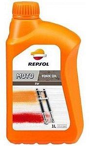 Repsol Fork Oil 5W Óleo Suspensão 100% Sintético