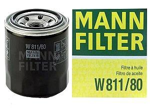 MANN W811/80 Filtro de Óleo Hyundai Santa Fé 2.7 24v V6 2006-2013