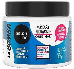 Máscara Salon Line Bombástica SOS bomba de vitaminas 500g