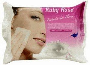 Lenço demaquilante Removedor Maquiagem Ruby Rose