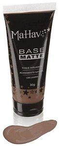 Base liquida matte Mahav - Cor Pele Negra