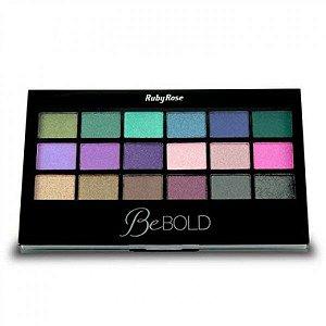 Paleta sombra be bold com primer Ruby Rose HB 9919