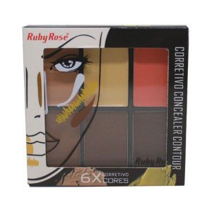 Corretivo Concealer Contour Ruby Rose HB 8088 Medium