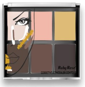 Corretivo Light Concealer Contour Ruby Rose