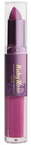 Batom Liquido Matte Ruby Rose HB 8606 Cor 299