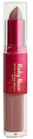 Batom Liquido Matte Ruby Rose HB 8606 Cor 292