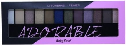 Paleta sombra ruby rose adorable