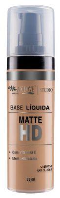 Base liquida matte hd maxlove bisnaga