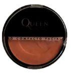 Pó compacto facial cores escuras Queen cor 07
