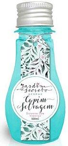 Difusor de Aromas com varetas Capim Selvagem Jardim Secreto 100 ml