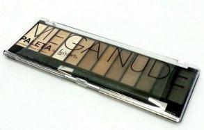 Paleta sombra mega nude Luisance - Contendo 12 unidades