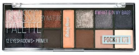 Paleta De Sombra Pocket Classic By Nature Ruby Rose
