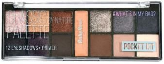 Paleta Atacado de Sombra Pocket Classic By Nature Ruby Rose Kit com 03 unidades