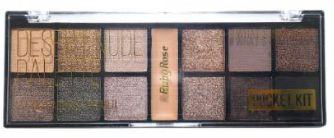 Paleta De Sombra Pocket Desert Nude Ruby Rose Kit contendo 03 unidades