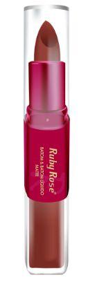 Batom Liquido Matte Ruby Rose HB 8606 Cor 013