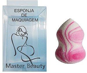 Esponja Master Beauty p/ aplicar maquiagem corretamente Atacado