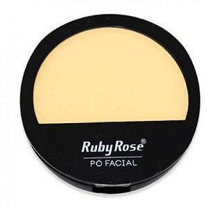 Po compacto facial Ruby Rose cores claras HB 7206 cor 03