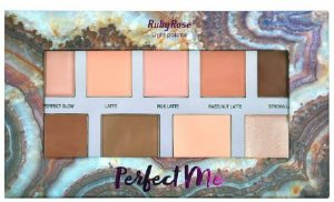 Paleta sombra po Iluminador Perfect Me Light Ruby Rose Hb 7509