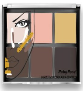 Corretivo Concealer Contour Light Ruby Rose HB 8088 Atacado