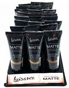 Base líquida matte Luisance L5001 box com 24 unidades Atacado