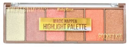 Paleta Iluminador Pocket Magic Happen Ruby Rose HB 7511
