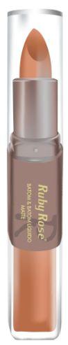 Batom Liquido Matte Ruby Rose HB 8606 Cor 056