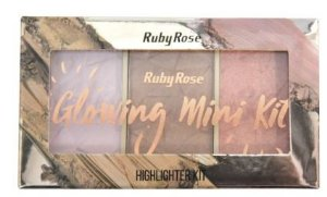 Paleta de Iluminador Glowing 4 Ruby Rose HB 7215
