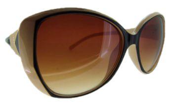 Óculos acetato marrom e preto