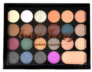 Paleta De Sombras Love Tons - Ruby Rose