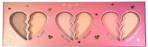 Paleta Face Kit Heart Ruby Rose HB 7520