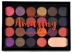 Paleta de sombra Amazing Ruby Rose HB 1004