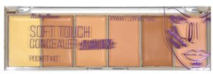 Paleta Atacado corretivo Soft Touch Concealer Medium Kit com 03 unidades