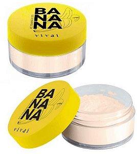 Pó Facial Translúcido Banana Vivai