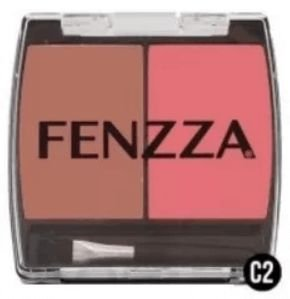 Blush Duo C2 da Fenzza Makeup Make