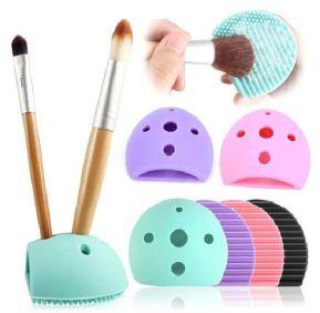 Suporte Atacado e Limpador de Pincel Master Beauty Kit com 03 unidades